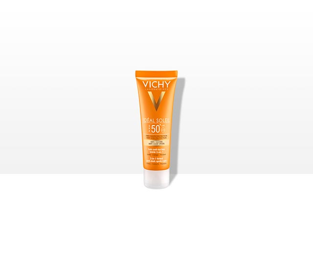 SPF 50 3-in-1 tinted anti-dark spots care